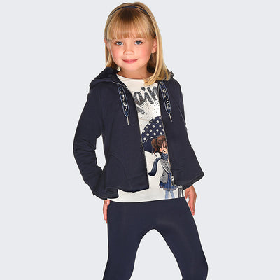 Mayoral Girls Navy Leggings Set  SKU 4708-79