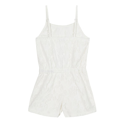 3pommes White Playsuit