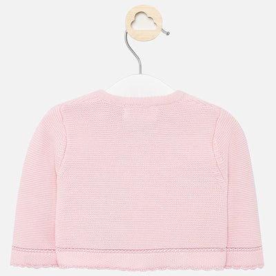 Mayoral Baby Girls Rose Knit cardigan  SKU 325-15  - S/S20