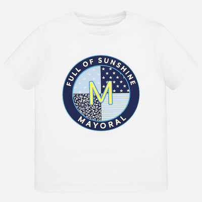 Mayoral Baby Boys White M T-Shirt s/s  SKU 1041-15 - S/S20