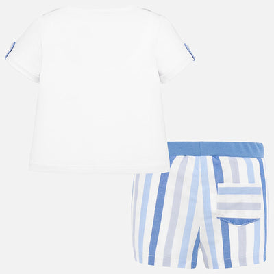 Mayoral Baby Boys Dream T-shirt and shorts set   SKU 1259-52 - S/S20