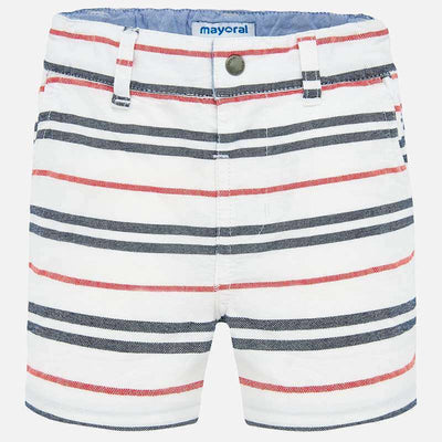Mayoral Baby Boys Striped bermuda shorts  SKU 1287-04 - S/S20
