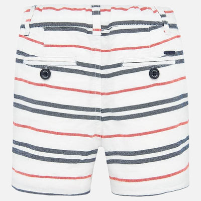 Mayoral Baby Boys Striped bermuda shorts