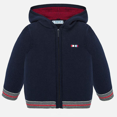 Mayoral Baby Boys Navy Hooded sweatshirt