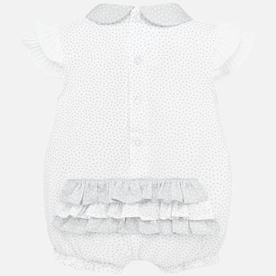 Mayoral Baby Girls Formal short romper SKU 1753-25 - S/S20