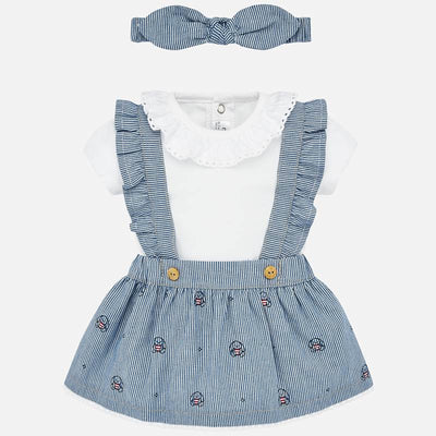 Mayoral Baby Girls Bunny Skirt Set