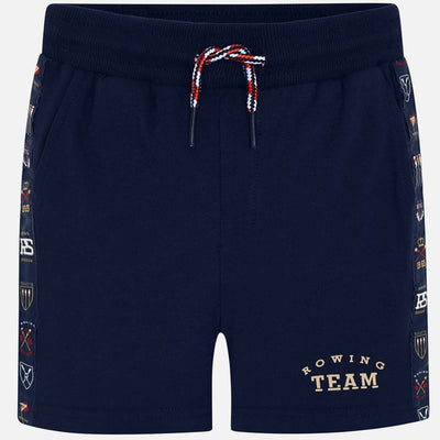 Mayoral Boy Navy Shorts with decorative designs  SKU- 3261-58 - S/S2O