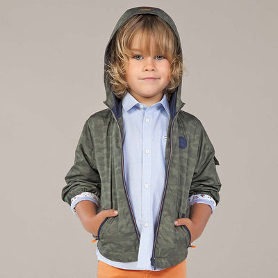 Mayoral Boy Camouflage windbreaker jacket  SKU- 3457-03 - S/S2O