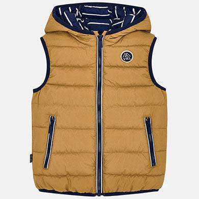 Mayoral Boys Navy & Mustard Padded Gilet