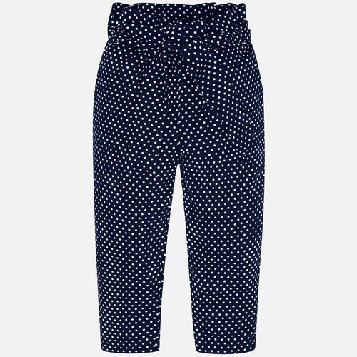 Mayoral Girls Navy Trousers with sash SKU- 3540-23 - S/S2O