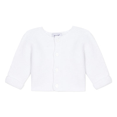 Absorba White Baby Cardigan