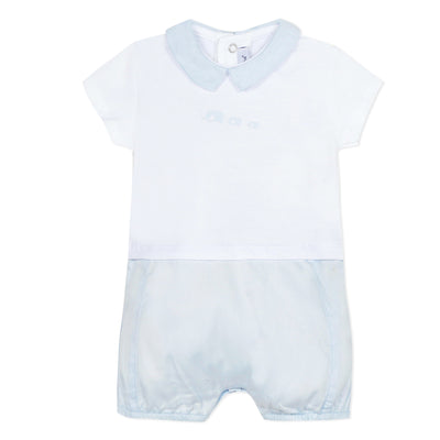 Absorba Blue Elephant Romper