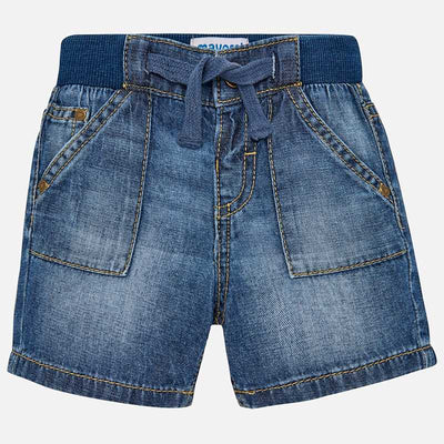 Mayoral Baby Boys Denim Shorts SKU - 203-85