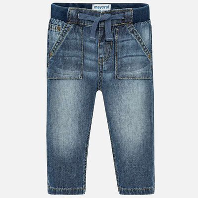 Mayoral Basic jeans for newborn boy - SKU - 500-10