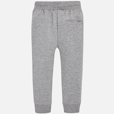 Mayoral Smoke Basic Cuffed Fleece Trousers - SKU - 742-69