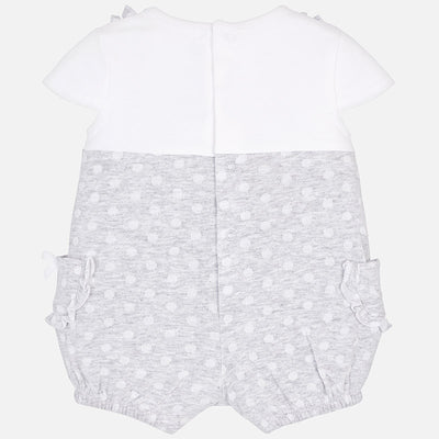 Mayoral Baby Girls Pearl Romper - SKU - 1603-18