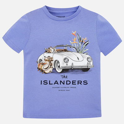 Mayoral Boys Lavender S/s T-Shirt - SKU - 3027-81