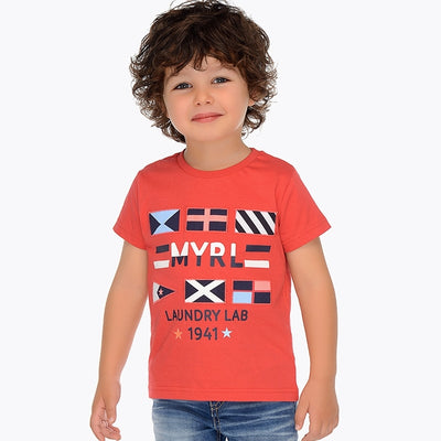 Mayoral Boys Blackberry S/s T-Shirt - SKU - 3031-36