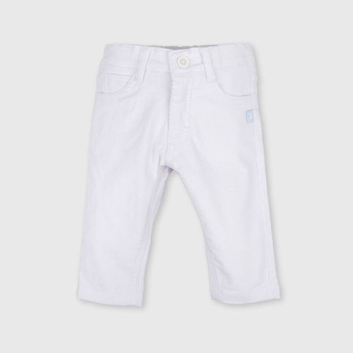 Tutto Piccolo Baby Optical White Trousers