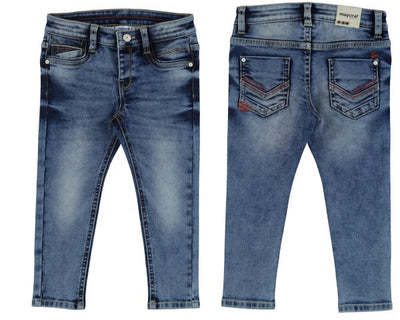 Mayoral Basic Super Slim Fit Denim Pants - SKU - 3522-57