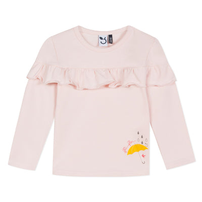 3pommes Girls Rose T-Shirt