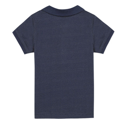 3Pommes Boys Navy Polo Shirt
