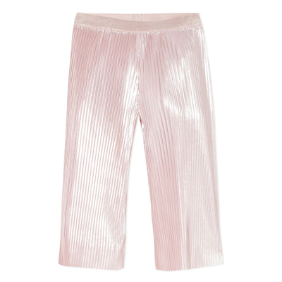 3Pommes Girls Pale Pink Shiny Trousers