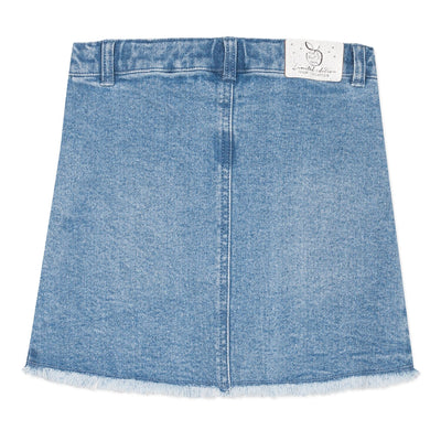 3Pommes Girls Blue Denim Skirt