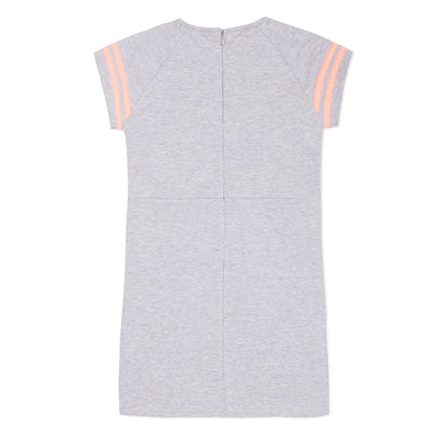3Pommes Girls Grey Skater Dress