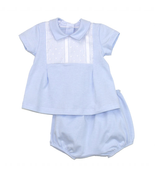 RAPIFE  Blue  Romper Set