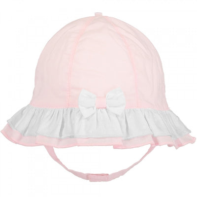 Emile et Rose Baby Girls Pink Sun Hat