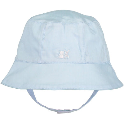Emile et Rose Gareth Baby Boys Pale Blue Sun Hat