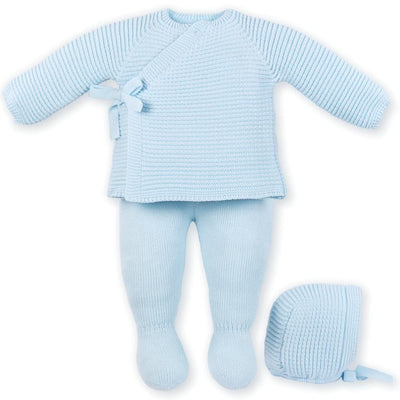 Mac ilusion Baby Boys 3pc Celeste Set