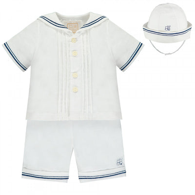 Emile et Rose Baby Boys Sailor Outfit