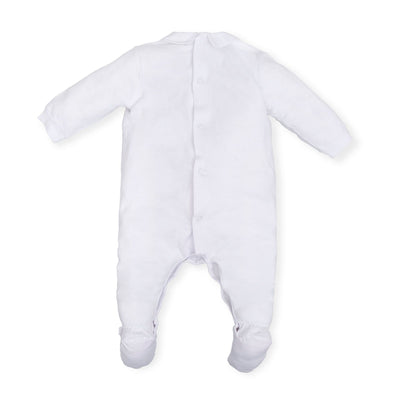 Tutto Piccolo Baby Optical White Babygrow/All in one SKU T6089