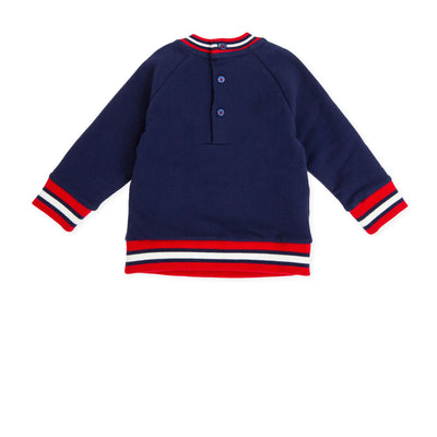 Tutto Piccolo Navy Blue Tracksuit