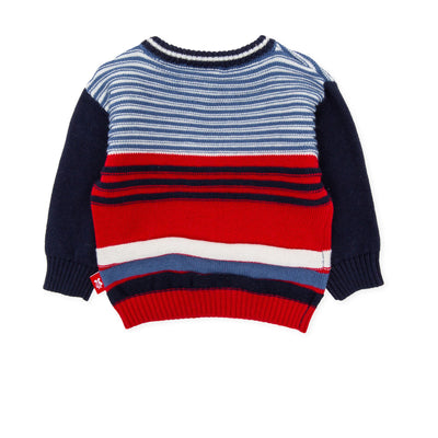 Tutto Piccolo Navy Blue Jumper 7819W19/BO7