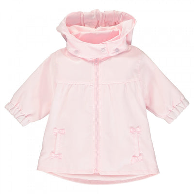 Emile et Rose Soren Girls Pink Showerproof Jacket