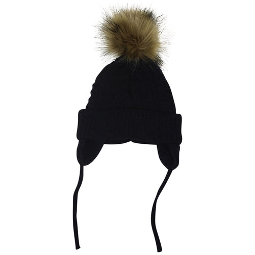 ad3704b694f Satila PIPER Navy Faux Fur Hat – koolkidz