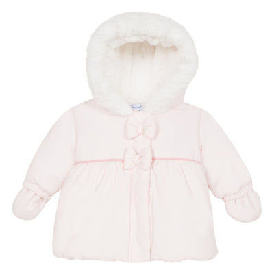 Absorba Girls Rose Pink Parka SKU 9P42012-30