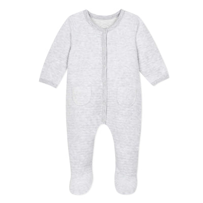 Absorba Baby Light Grey Babygrow