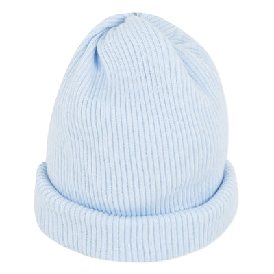 Absorba Blue Baby Boys cotton Hat  SKU   9Q79070-41  S/S20
