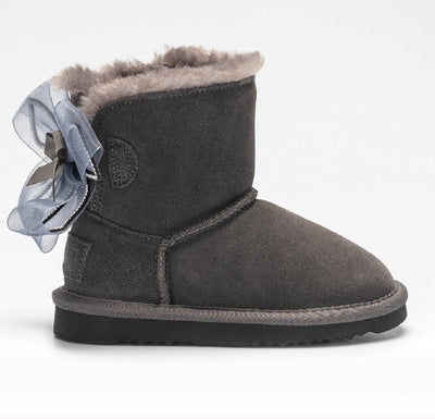 New Lelli Kelly Talulle Grey Suede Boot  LK6684