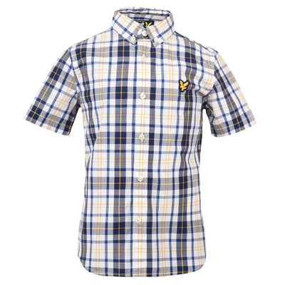 Lyle & Scott Checked Shirt SKU LSC0359