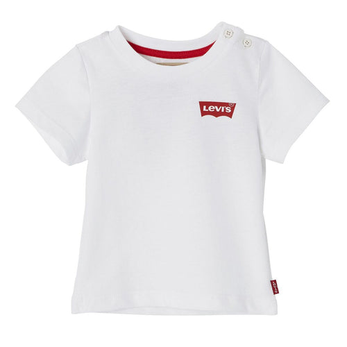 LEVI'S White Short Sleeve Baky T-Shirt  - SKU - NN10114-01