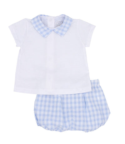 RAPIFE Boys Blue T-Shirt & Bloomers   SKU  R4514-16   S/S20