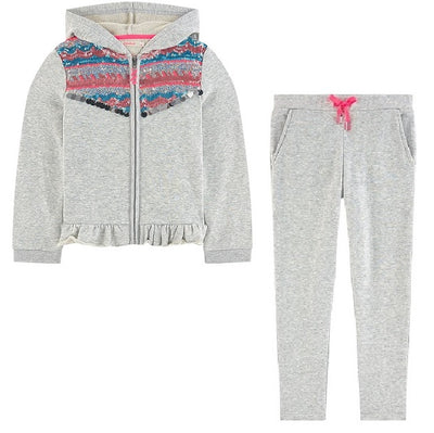 Billieblush Light Grey Mel Tracksuit  SKU  U15652 / U14325