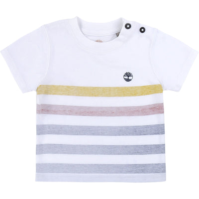 Timberland Boys Unique T-Shirt    SKU    T05J22-Z40   S/S20