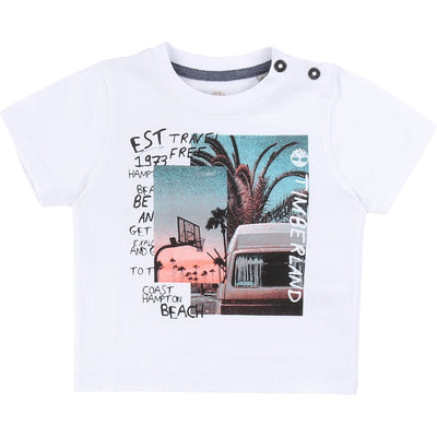 Timberland Boys White T-Shirt