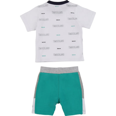 Timberland Boys Shorts Set   SKU    T08168-Z40    S/S20